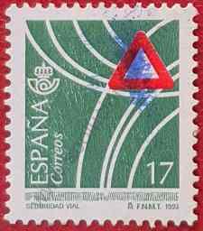 Sello Seguridad vial - España 1993