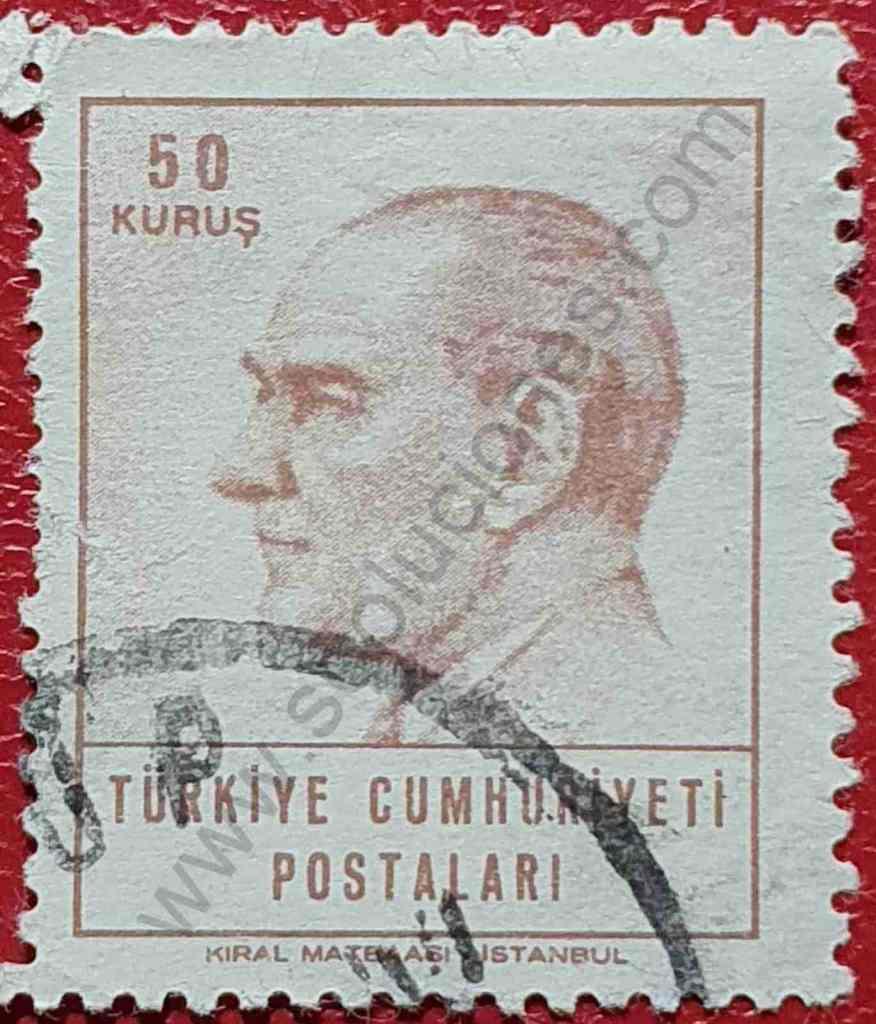 Sello Atatürk 1965 - Turquía