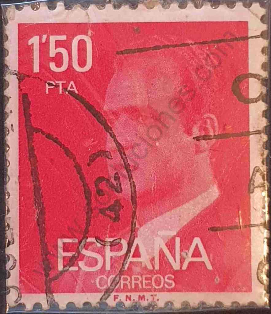 Sello 1'50pta - Rey Juan Carlos - España 1976