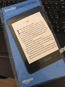 読書は紙派ですがKindle Paperwhiteを購入しました