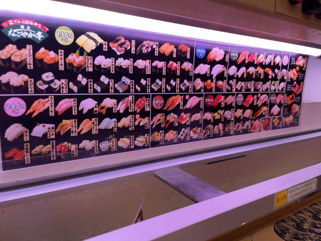 生モノを食べない私が回転寿司に行くと安くて満足できる