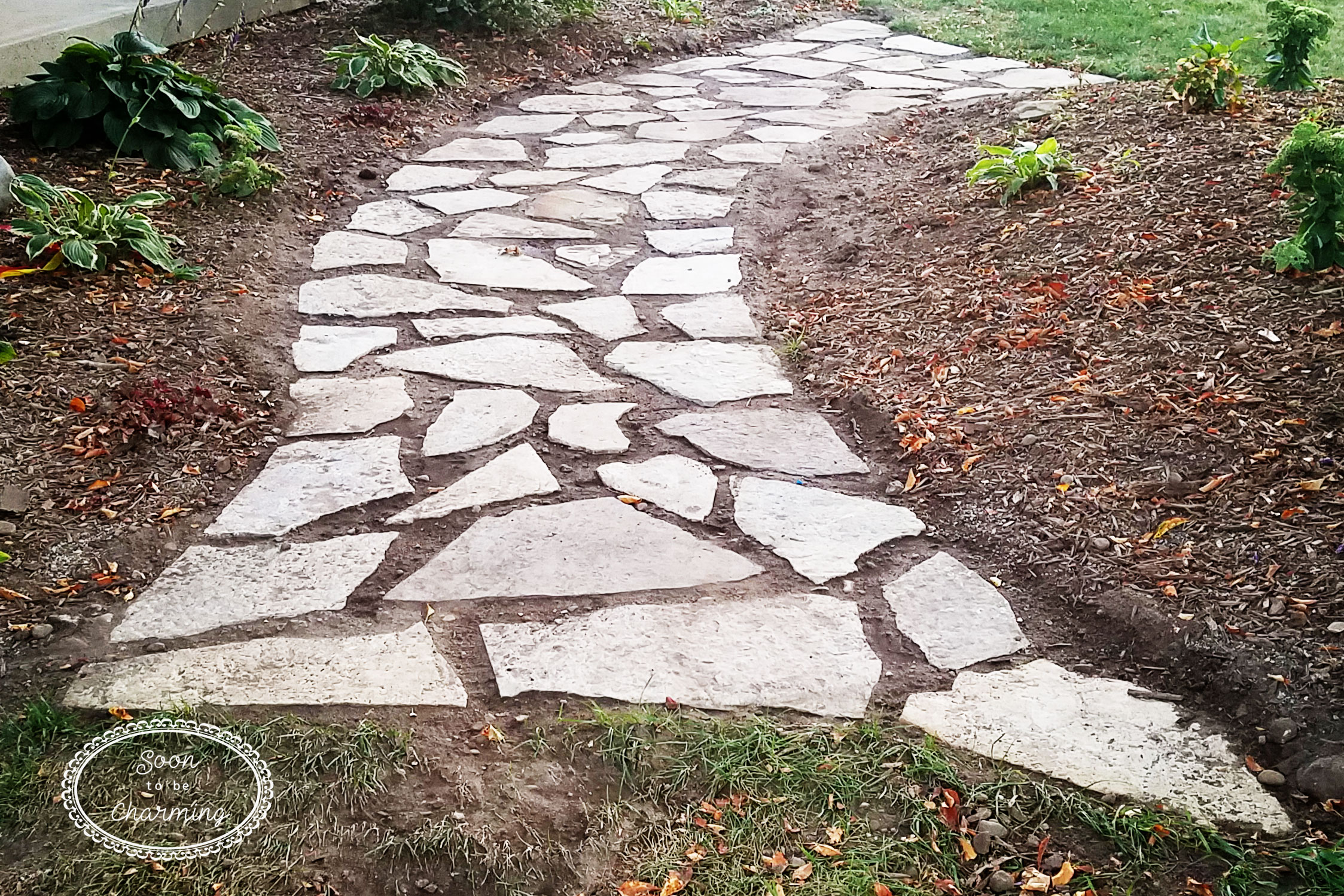 How To Lay A Flagstone Pathway Soon To Be Charming