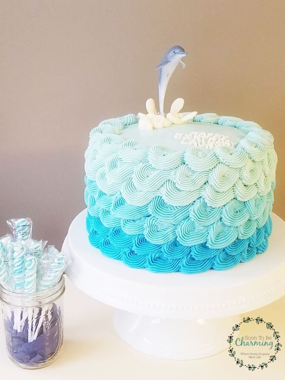 Fabulous How To Make A Dolphin Cake Soon To Be Charming Funny Birthday Cards Online Alyptdamsfinfo