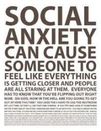 social anxiety disorder SAD