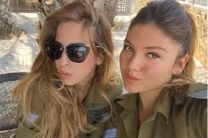 Mulheres do exército Israelita exibem a sua excelente forma física no Instagram