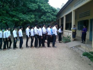 Cambodia High school exam 2015 2
