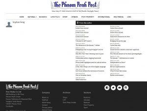 Phnom Penh Post Articles