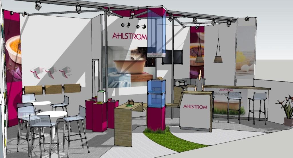 Ahlstrom PackExpo vue de profile