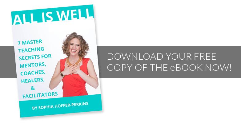 All Is Well — FREE eBook by Sophia Hoffer-Perkins