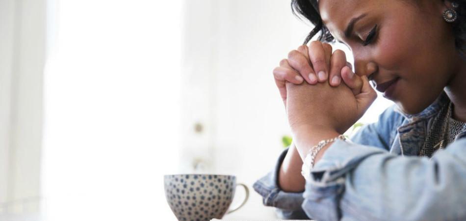 praying thumb