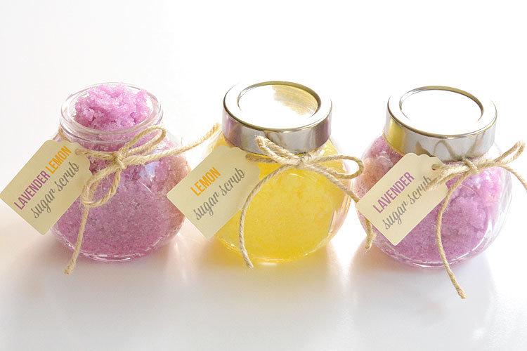 scrub lemon lavender