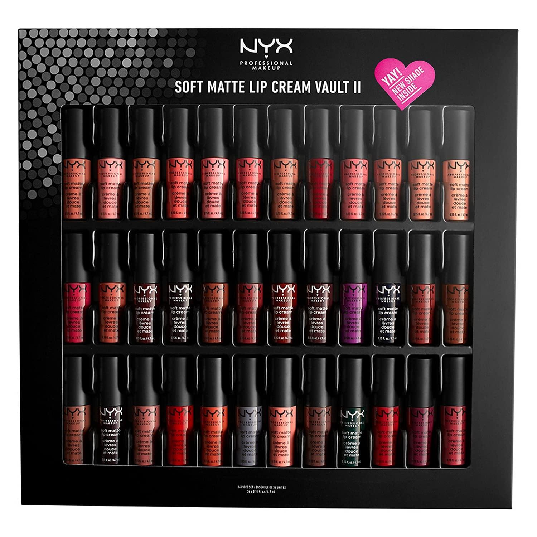 nyx vault lip color