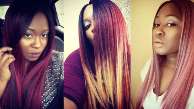 The freetress evlyn wig are some of the most affordable wigs for black women. It is a cheap synthetic wig that looks real and comes in all different types of colors.