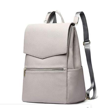 HaloVa Diaper Bag, Baby Nappy Backpack, Premium Leather Women's Travel Bag