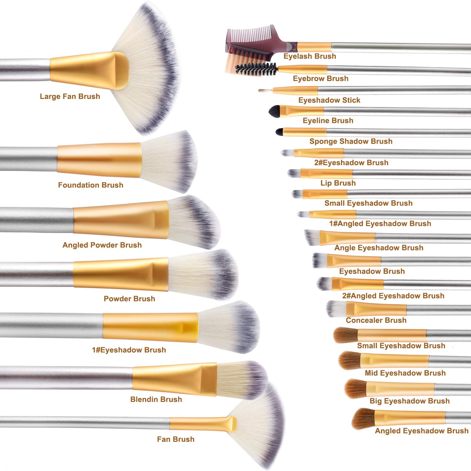 best makeup brushes from amazon 3