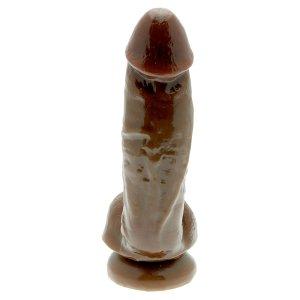 Adams Pleasurekin Cock Cinnamon Dildo