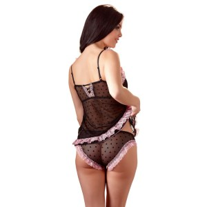 Cottelli Lingerie Babydoll And Panties