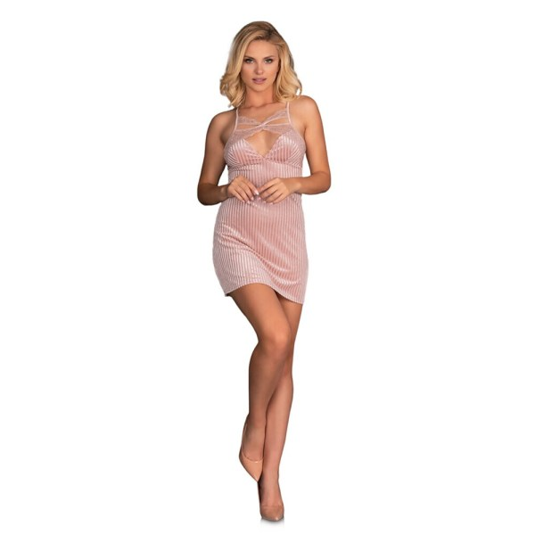 Corsetti Thorjako Nightdress And Thong Pink
