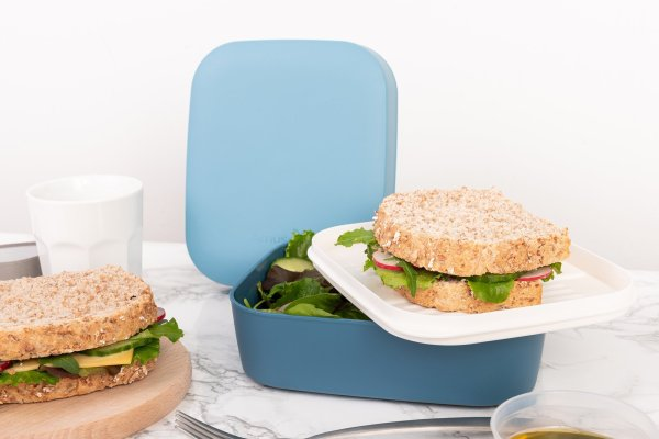3-in-1 lunchbox roze - Amuse