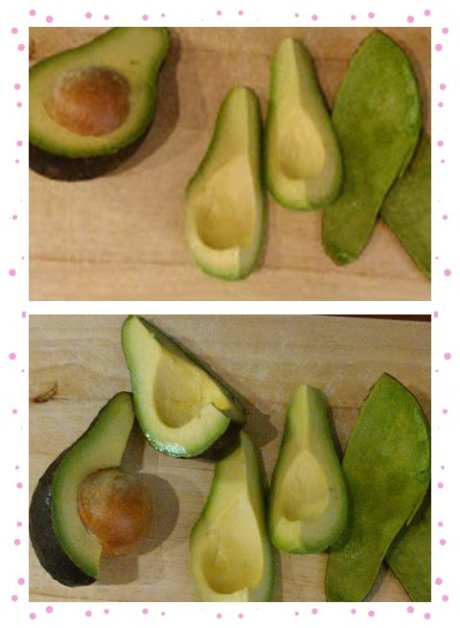 How to chop avocado