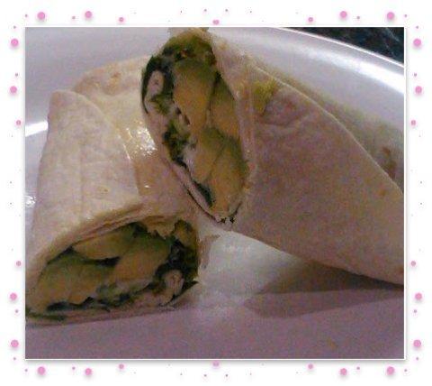 Avacado finished wrap