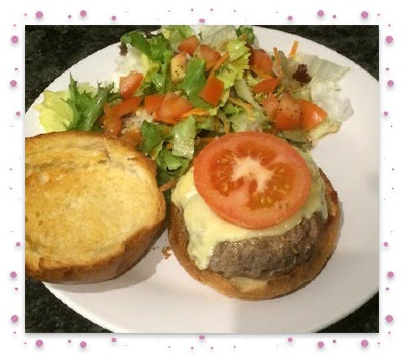 Burger 1 framed