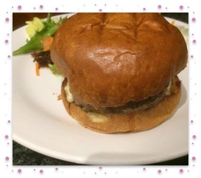 Burger 4 framed