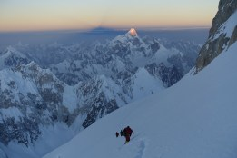 traverse with back Masherbrum