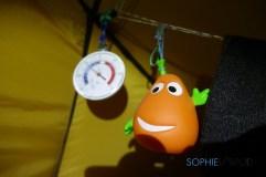 GlaGla dans la tente