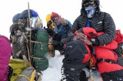 sherpas en route vers le camp 4
