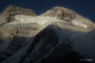 le Broad Peak vu du Camp de base