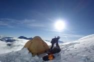 NaDorjee devant notre tente
