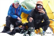 Herbert et Sergey, summiters. BRAVO !