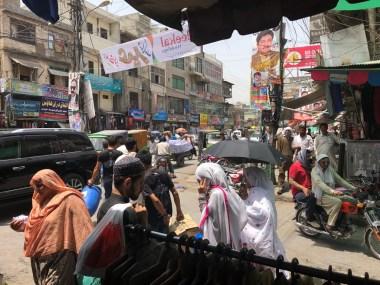 Rawalpindi street view