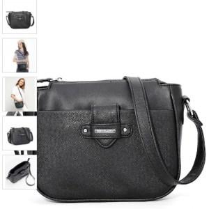 tas selempang warna hitam