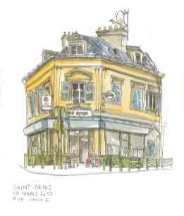 Bar rue Lanne à St-Denis (93)
