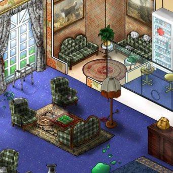 illustration de jeux vidéos, décor sur photoshop