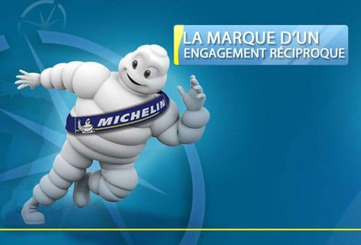 Michelin : borne tactile