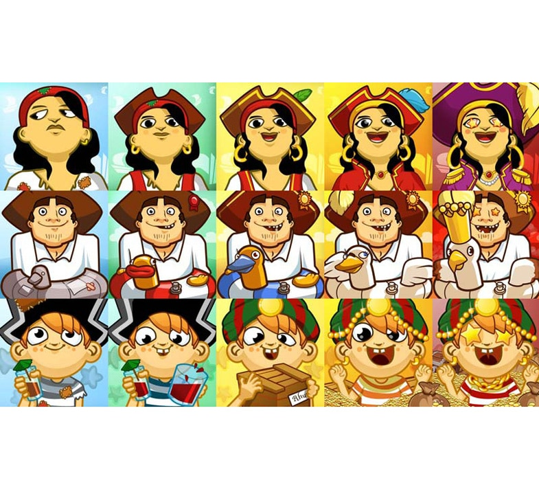 War of Rum avatars