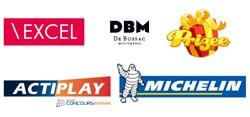 mes références, marques et sociétés pour lesquelles j'ai travaillé en 12 ans d'expérience