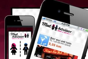 Meet Advisor application iphone