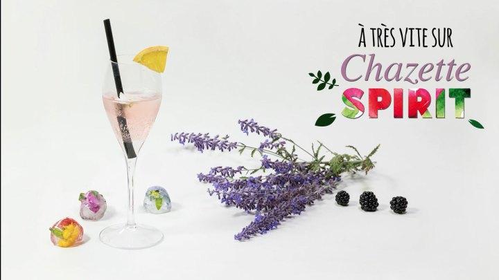 capture d'écran de la vidéo de la recette Kir minute pour Botanic Spirit