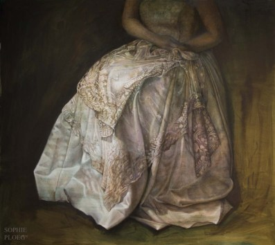 The Duchess, Oil on Linen, 91x101cm, Available