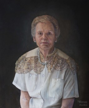 The Pearl Necklace, Oil on linen, 60x50cm, Available