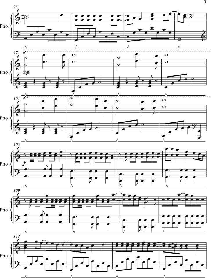 Wedding Dress by Taeyang - Sheet Music Arrangement for Simple Piano ...