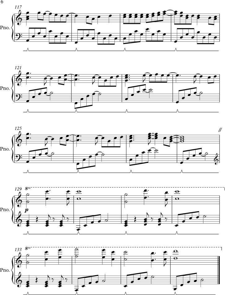 Wedding Dress By Taeyang Sheet Music Arrangement For Simple Piano
