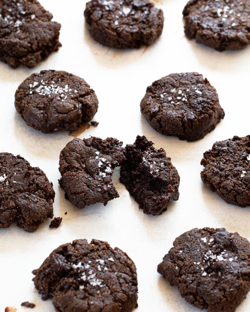 生酮雙倍巧克力豆餅乾 Keto Double Chocolate Chip Cookie-1