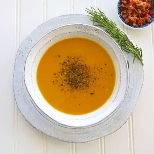培根蔬菜奶油濃湯