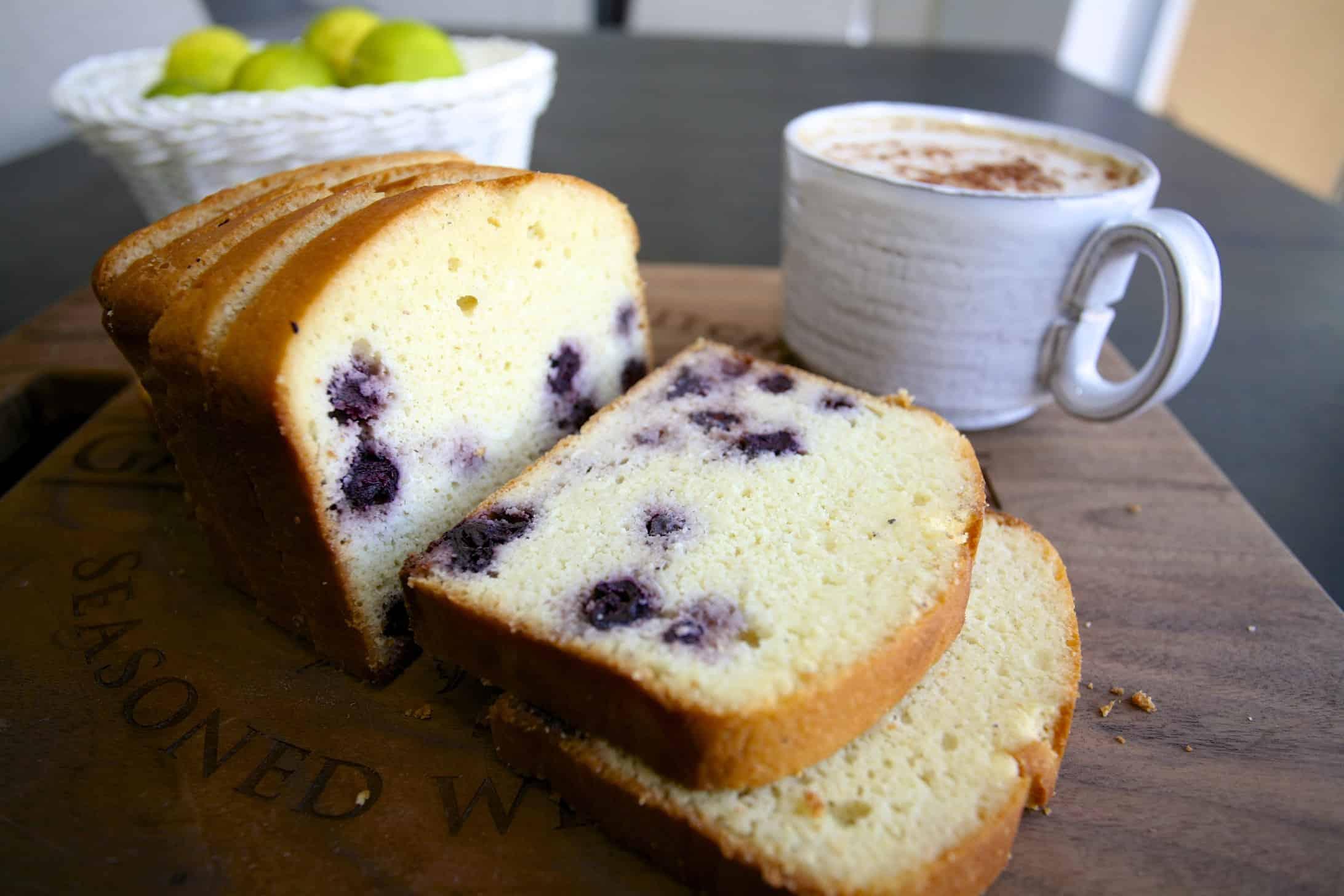 檸檬藍莓磅蛋糕