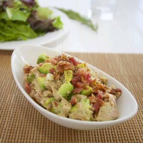 酪梨鮪魚沙拉 Avocado Tuna Egg Salad